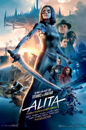 Alita: Battle Angel - Thiên Thần Chiến Binh