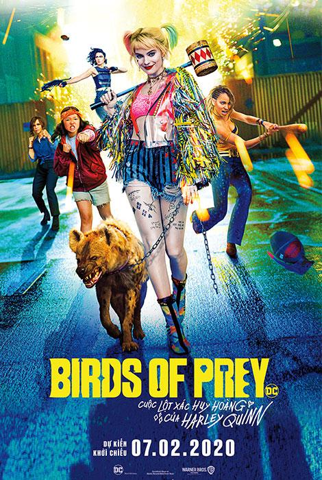 BIRDS OF PREY: CUỘC LỘT XÁC HUY HOÀNG CỦA HARLEY QUINN