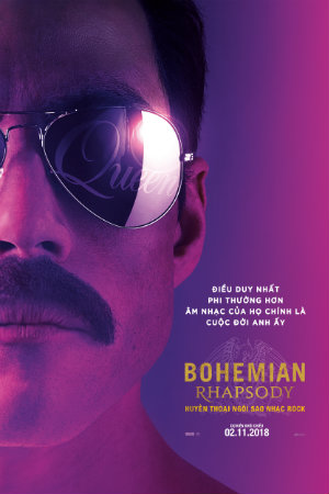 Bohemian Rhapsody (C16) Huyền Thoại Ngôi Sao Nhạc Rock