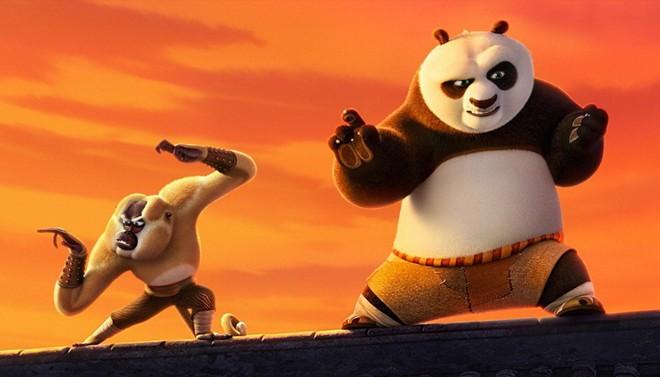 'Kung Fu Panda 3' không có đối thủ tại phòng vé Bắc Mỹ