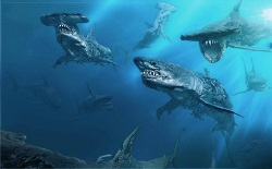 Cướp Biển Caribbean 5 tiết lộ hình ảnh về đám cá mập... zombie khổng lồ mới