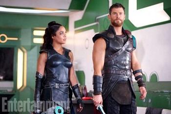 Những hình ảnh đầu tiên của Thor Ragnarok