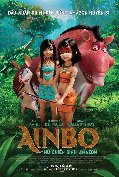 AINBO 2D LT: NỮ CHIẾN BINH AMAZON