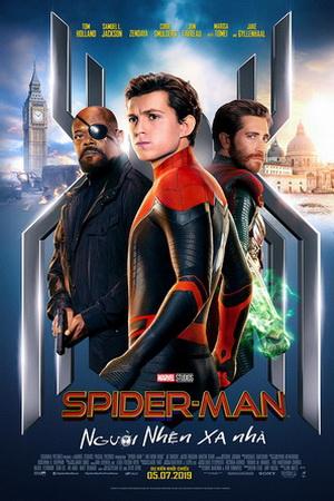 SPIDER-MAN 3D (C13): Người Nhện Xa Nhà
