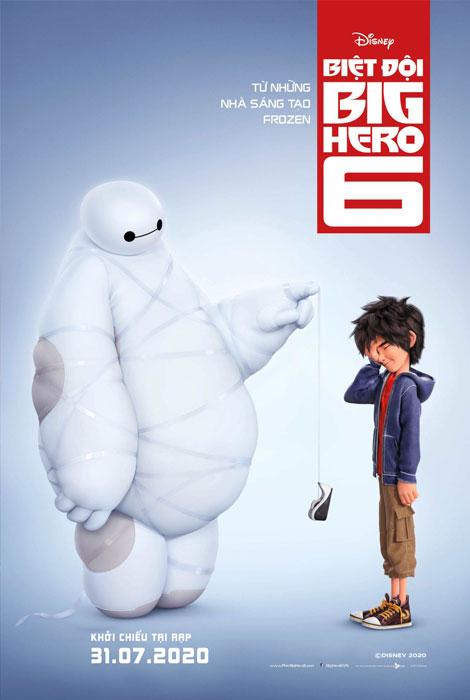 BIỆT ĐỘI BIG HERO 6 2D LT