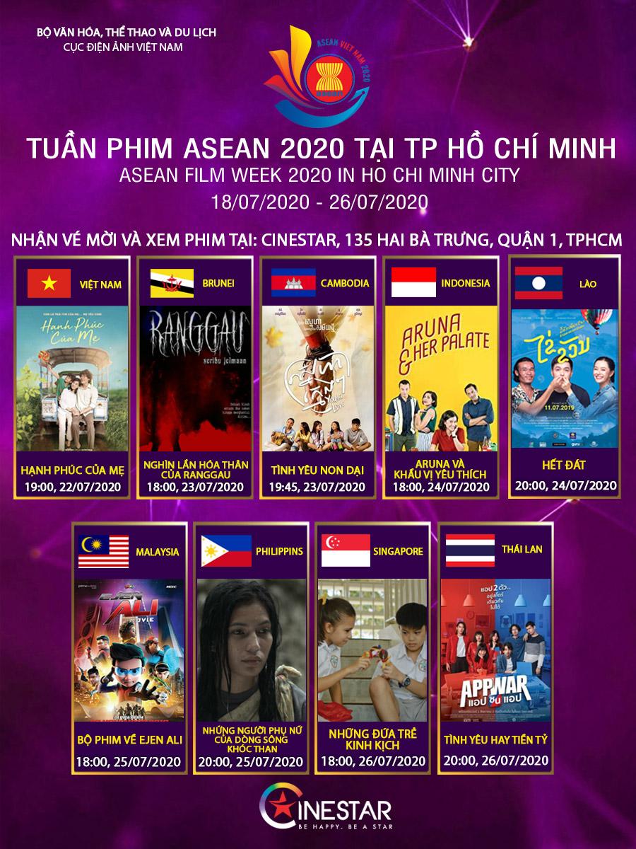 LIÊN HOAN PHIM ASEAN 2020
