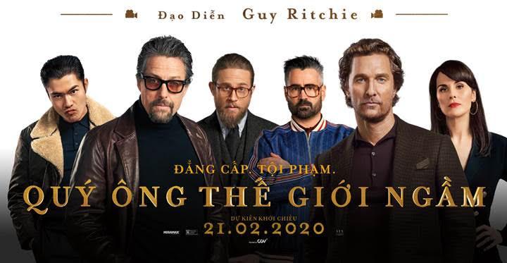[THE GENTLEMEN] - Guy Ritchie đạo diễn tỷ đô và dấu ấn phim hành động, tội phạm